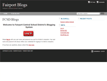 Tablet Preview of blog.fairport.org